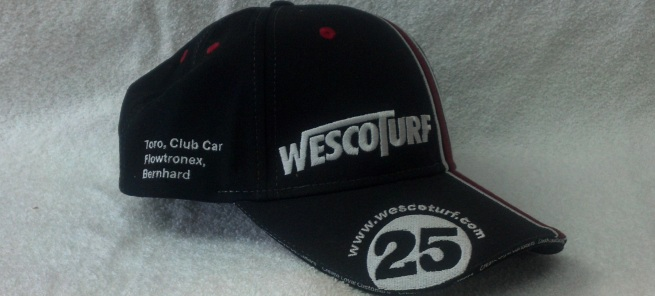 Wesco Turf embroidered hat